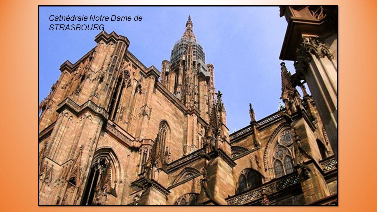 Cathédrale Saint Etienne de METZ surnommée Lanterne de Dieu