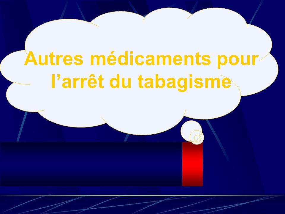 Autres médicaments pour larrêt du tabagisme