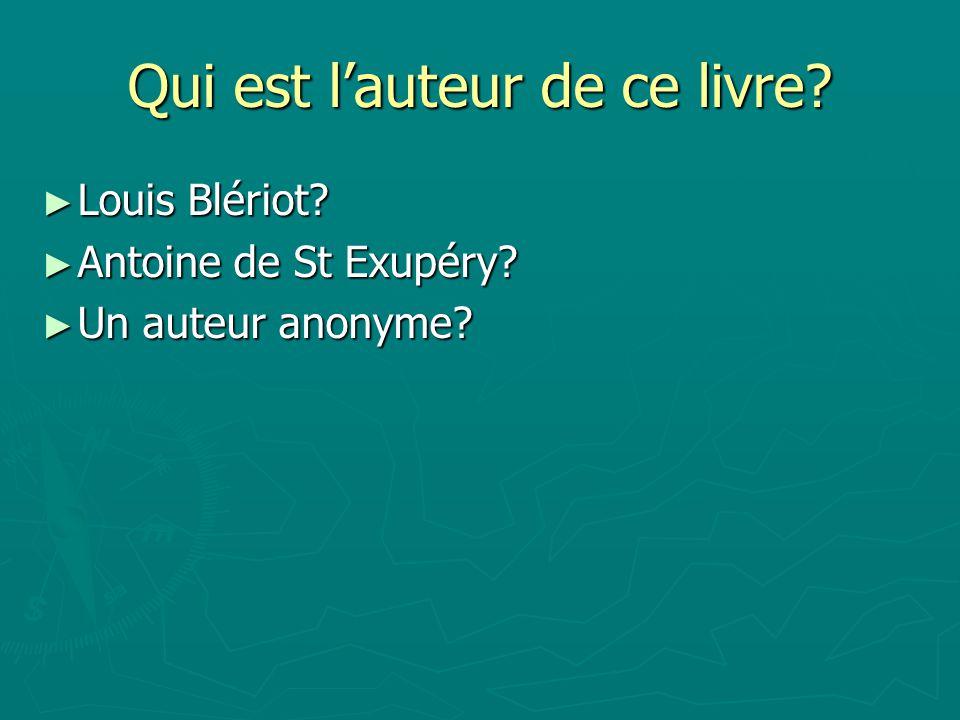 Antoine de St Exupéry Antoine de St Exupéry