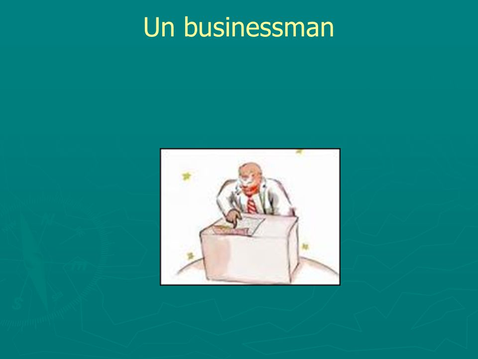 Un businessman