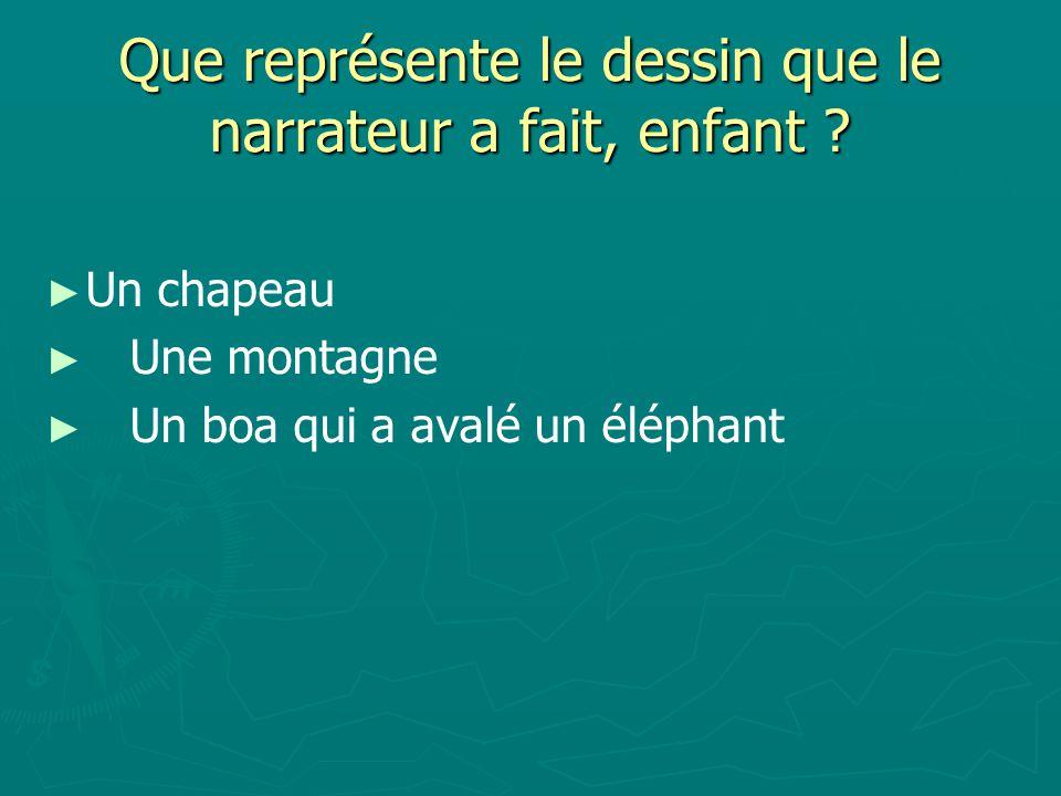 Un boa qui a avalé un éléphant Un boa qui a avalé un éléphant