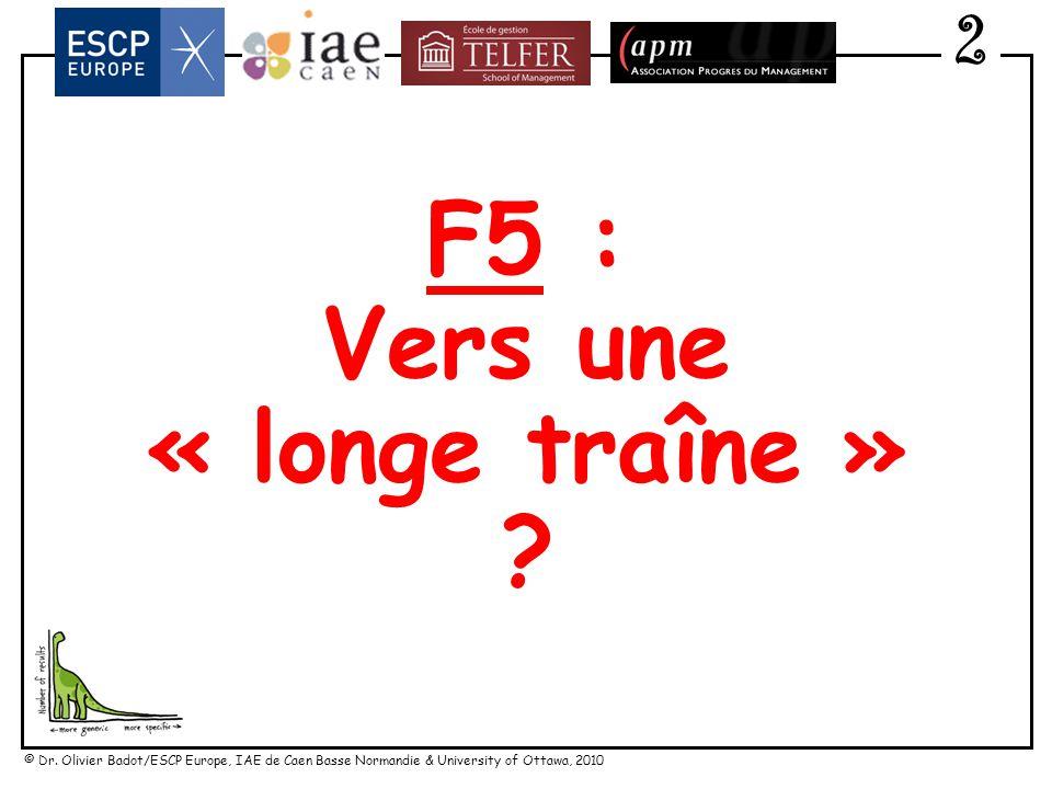 © Dr. Olivier Badot/ESCP Europe, IAE de Caen Basse Normandie & University of Ottawa, 2010 Vers une « consommation responsable » 2