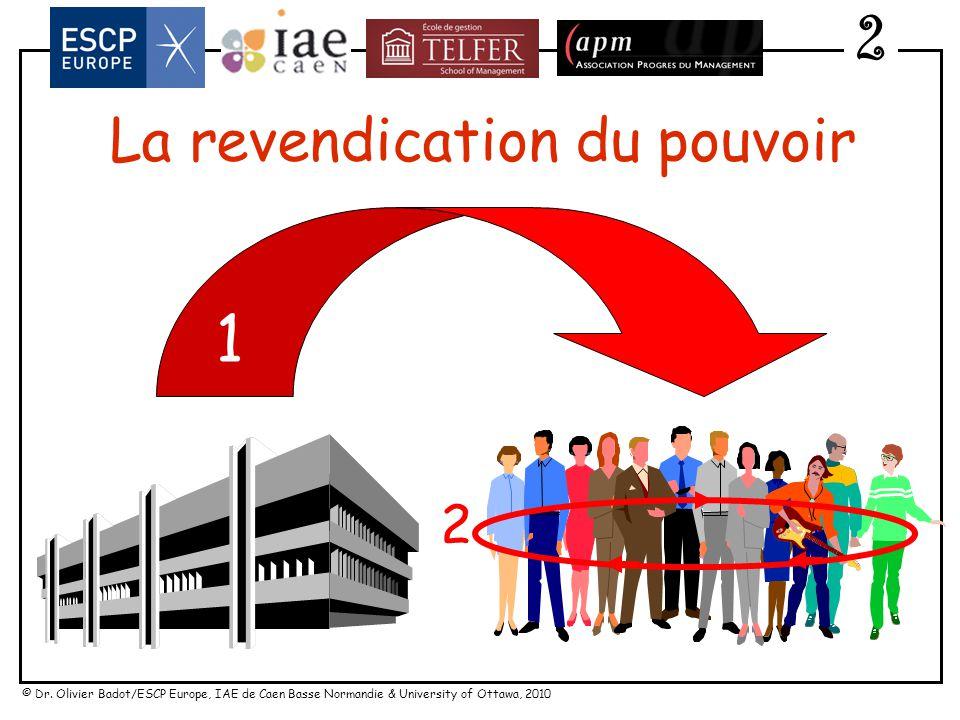 © Dr. Olivier Badot/ESCP Europe, IAE de Caen Basse Normandie & University of Ottawa, 2010 2 Oligopoleurs traditionnels Canaux et concepts alternatifs