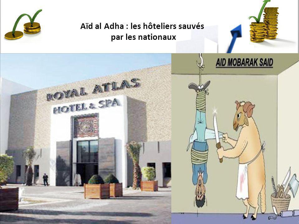 Aïd al Adha : les hôteliers sauvés par les nationaux
