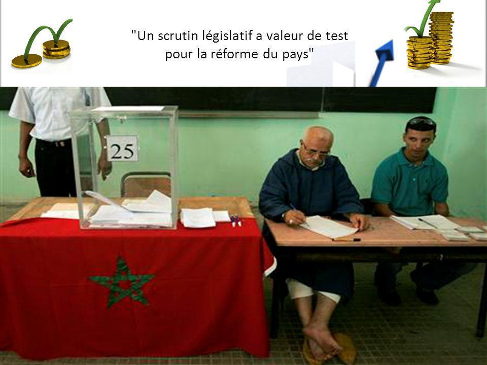 Un scrutin législatif a valeur de test pour la réforme du pays