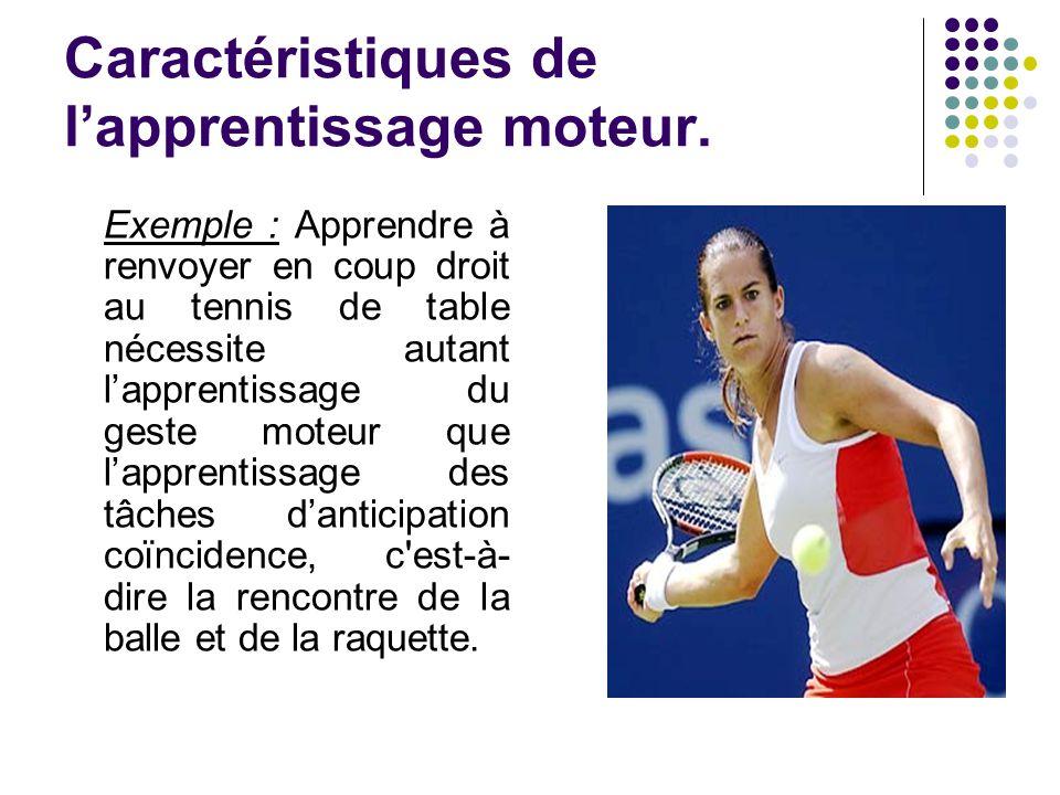 Le transfert dapprentissage Clarification : certains ont pu affirmer par le passé que les athlètes de haut niveau étaient tels des robots, des « machines » qui reproduisaient toujours la même tâche.