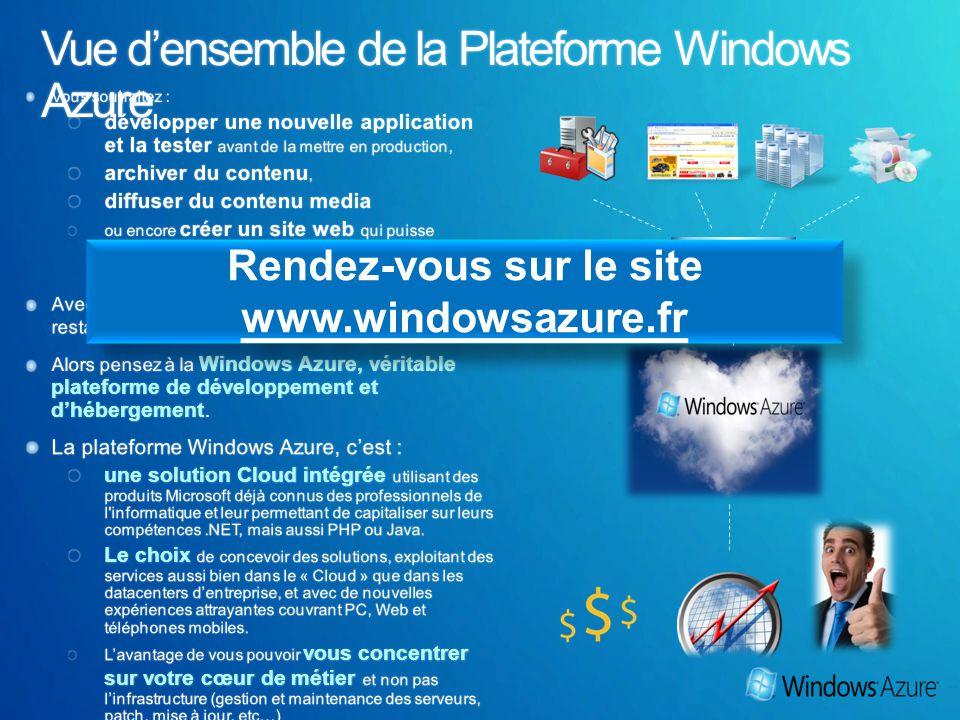 Rendez-vous sur le site www.windowsazure.fr