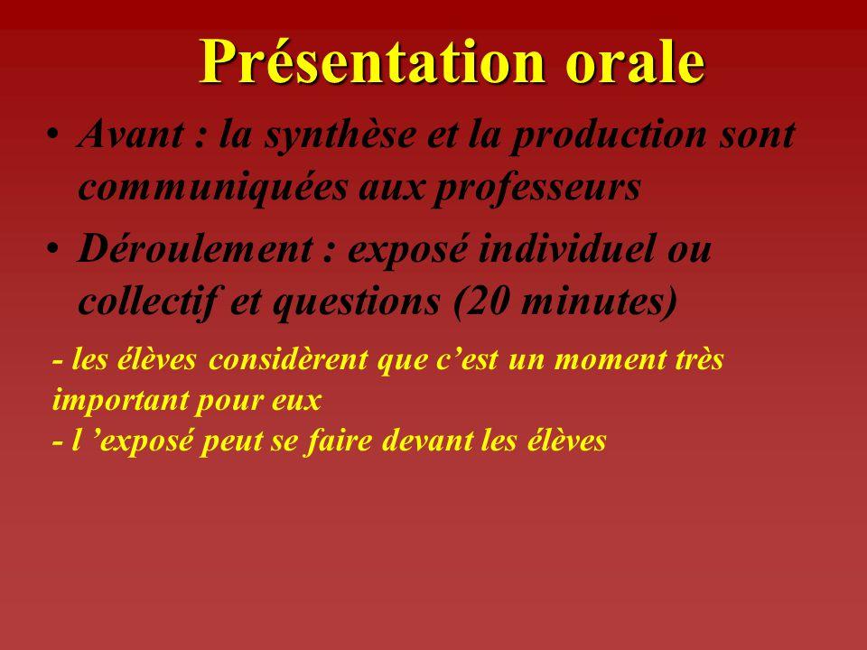 Productions possibles DossierAttention à la compilation et au copier/coller Site WEBNe pas négliger le contenu au profit de la forme.