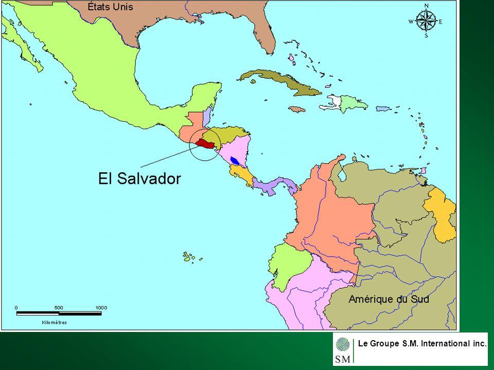Le Groupe S.M. International inc. 5 á Usulután, El Salvador