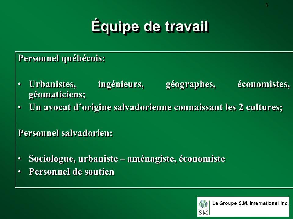Le Groupe S.M. International inc. 19 USULUTAN-RURAL