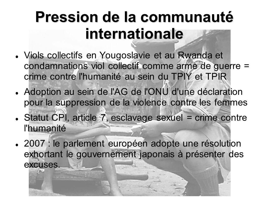 Viols collectifs en Yougoslavie et au Rwanda et condamnations viol collectif comme arme de guerre = crime contre l'humanité au sein du TPIY et TPIR Ad