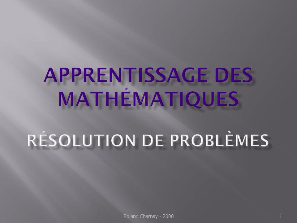 La pratique des mathématiques développe le goût de la recherche et du raisonnement, l imagination et les capacités d abstraction, la rigueur et la précision.