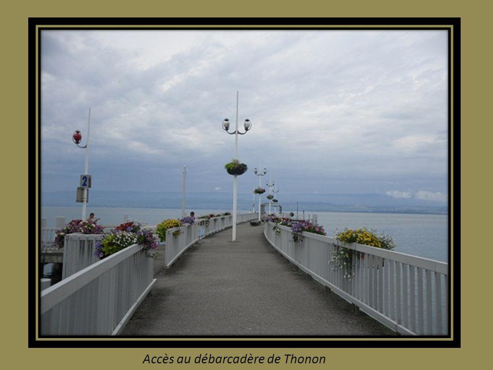 le Port de THONON les Bains