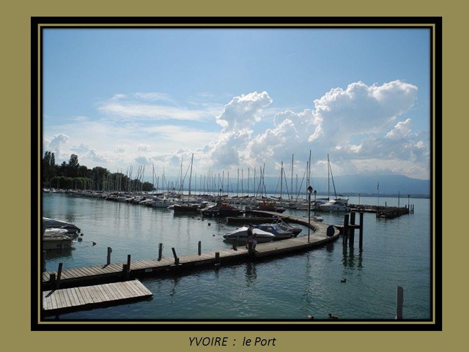 YVOIRE : le Port