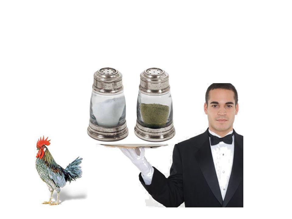 Voici du sel et du poivre.