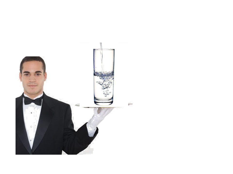 Voici un verre deau.