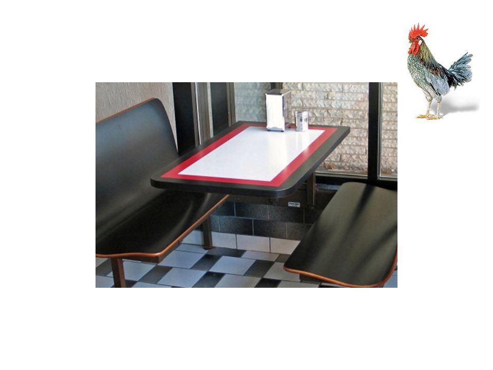 Le serveur vient à la table. Il dit, Quest-ce que vous voudriez manger?