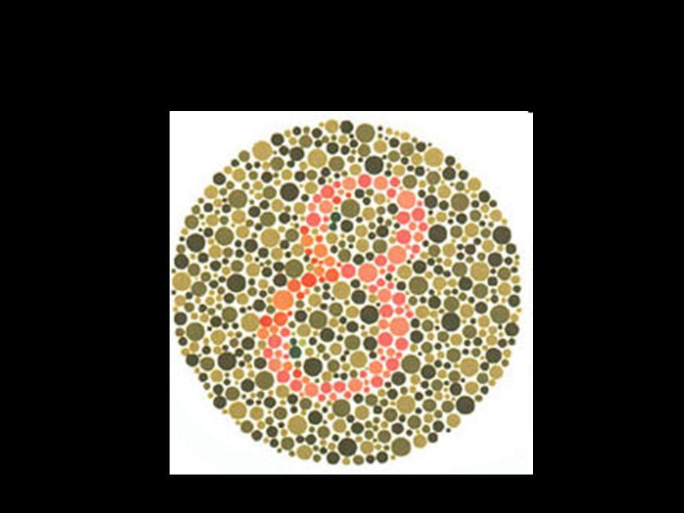 8 Daltonien avec déficience rouge-vert voient un 3
