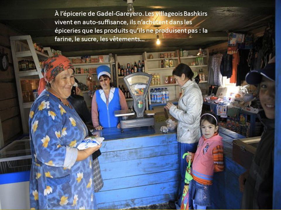 Gadel-Gareyero est un village uniquement bashkir. Depuis la disparition des Kolkhozes, les jeunes quittent le village pour aller sinstaller en ville p