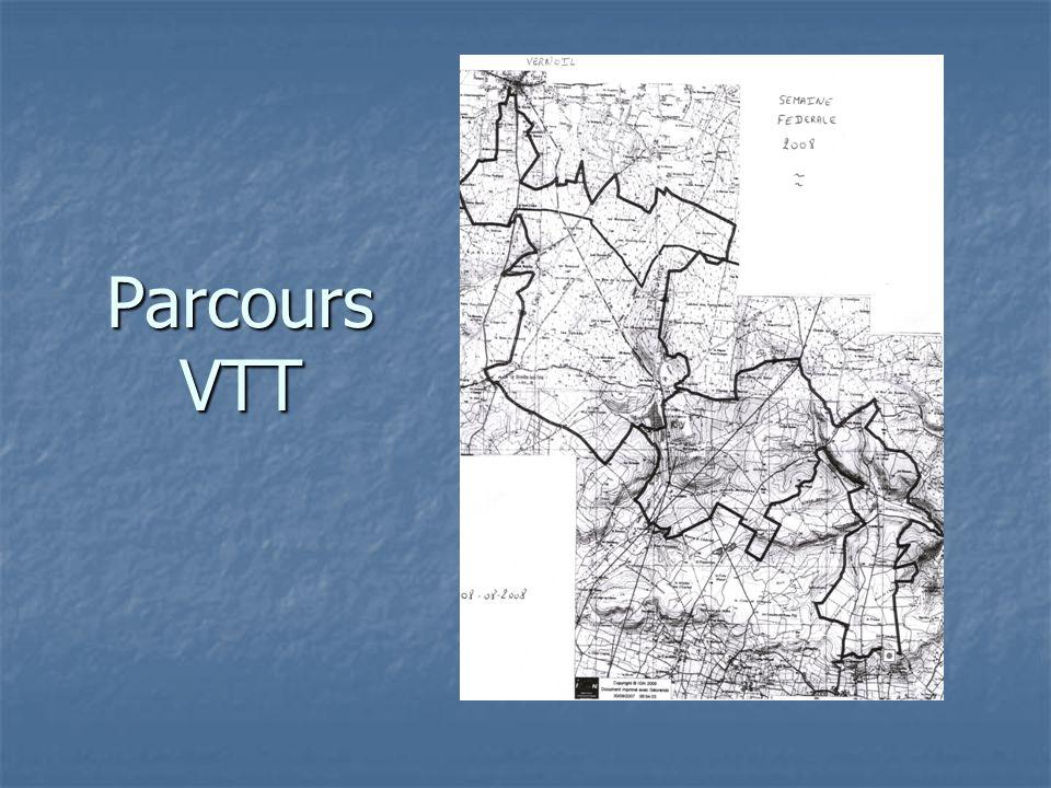 Parcours VTT