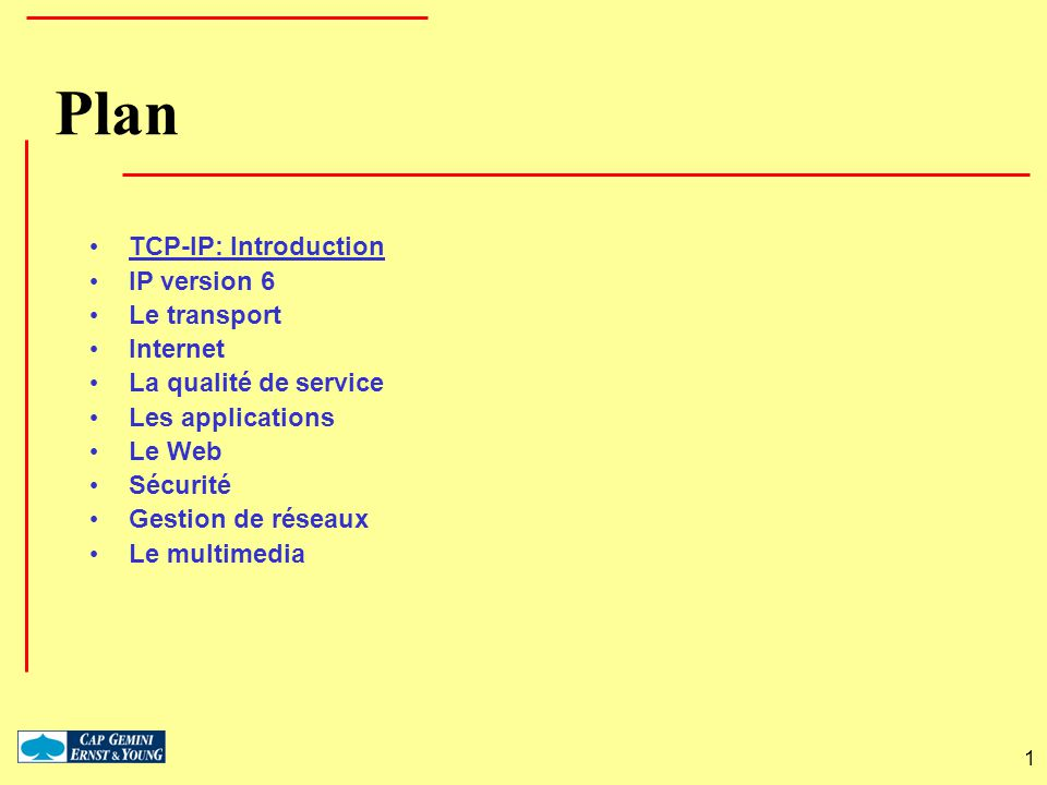 L architecture « complète » Protocole IP ICMP/IGMP Autres TCP UDP...