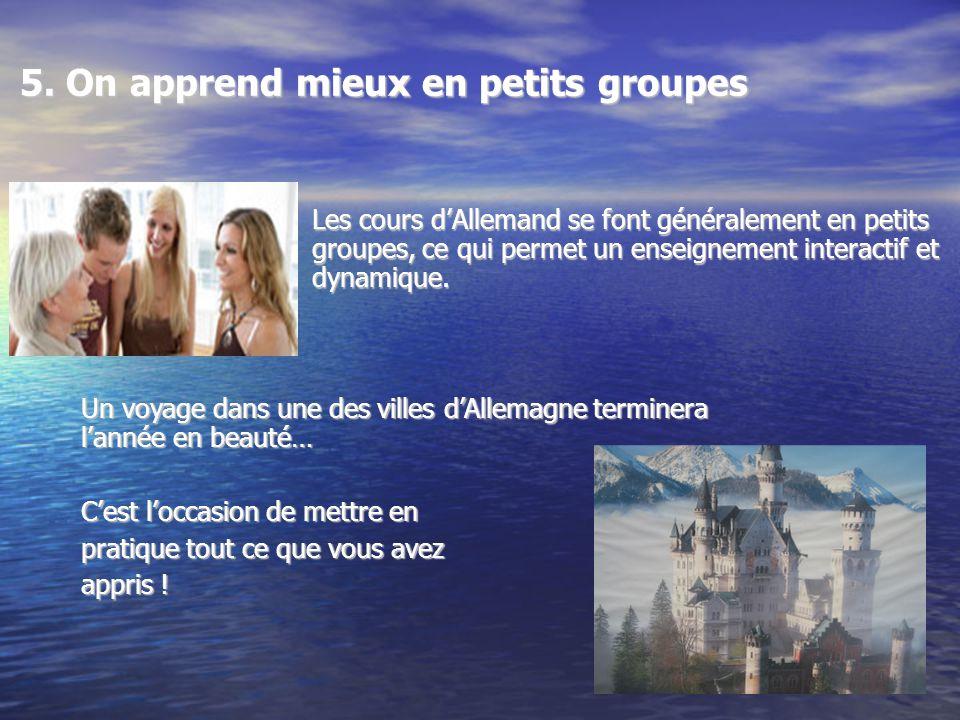 Pour plus de renseignements au sujet de lAllemand Une adresse utile : http://eduscol.education.fr/D0056/langues_vivantes_lycee.htm