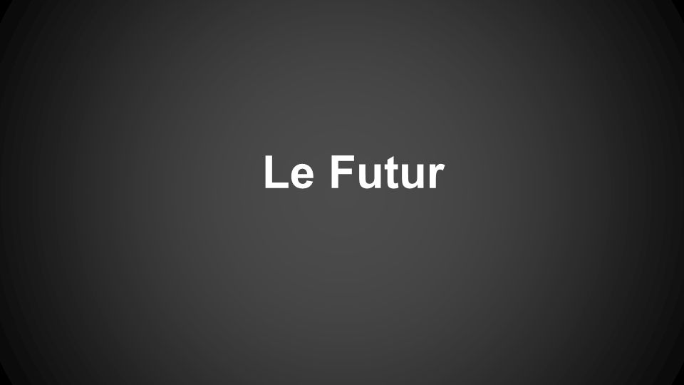 Le Futur Avec Aller You have already learned to use the verb aller conjugated + infinitive to say what you are going to do.