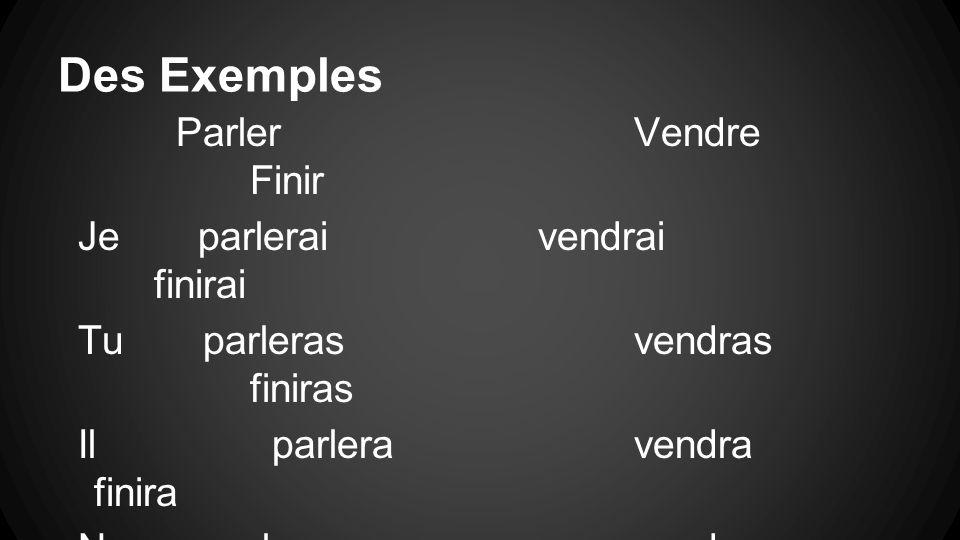 Irregular Verbs Some verbs dont follow the rule.