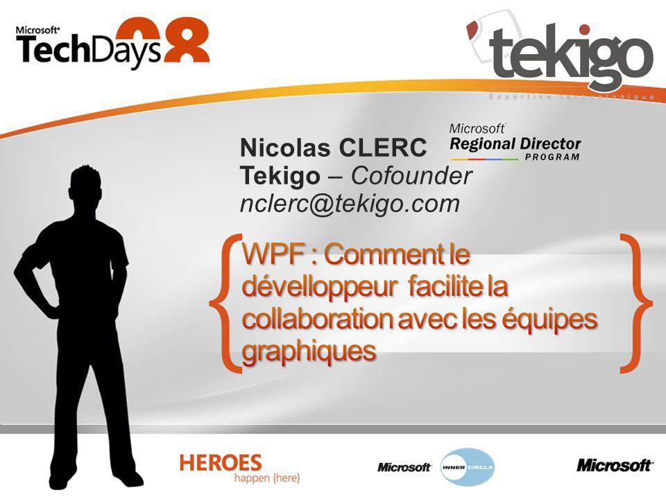 Nicolas CLERC Tekigo – Cofounder nclerc@tekigo.com