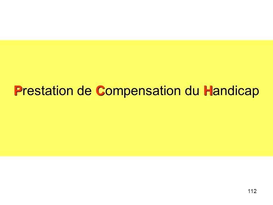 112 PCH Prestation de Compensation du Handicap