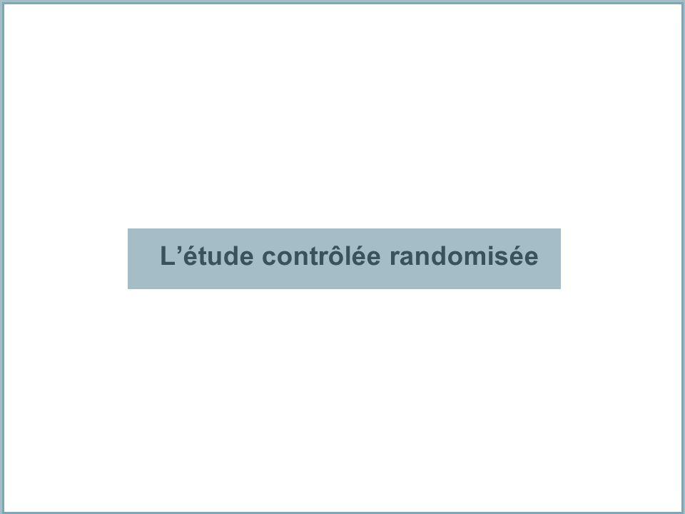 Létude contrôlée randomisée