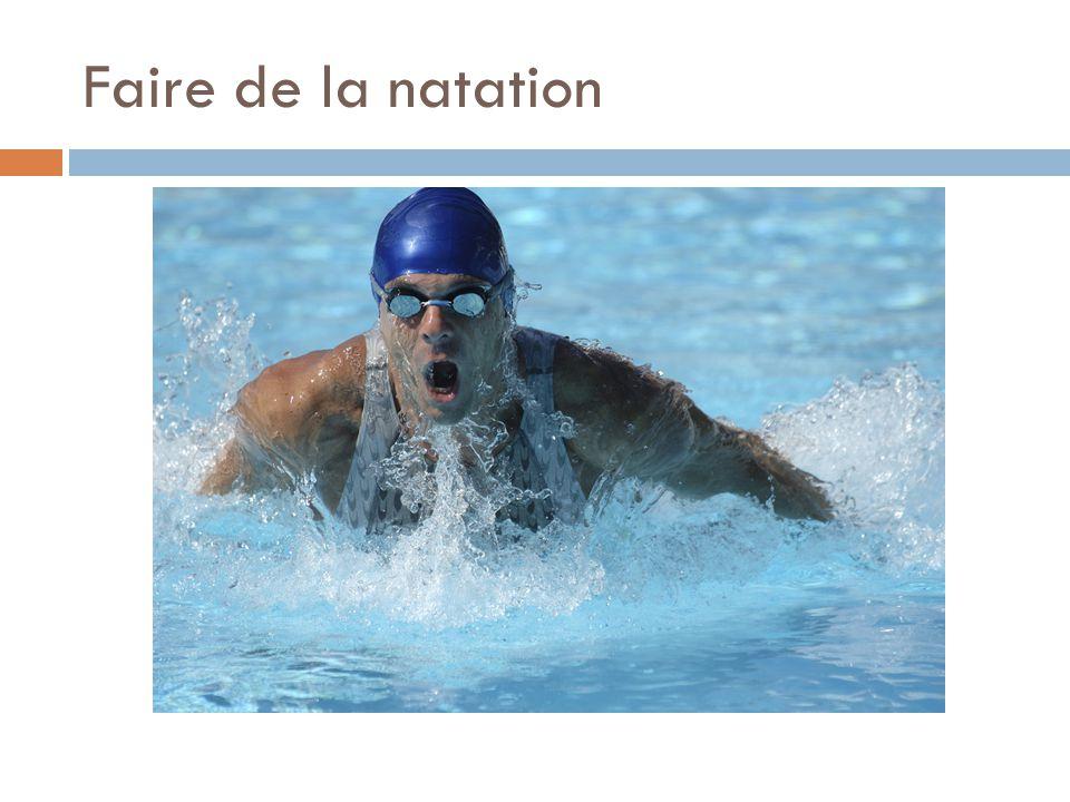 Faire de la natation