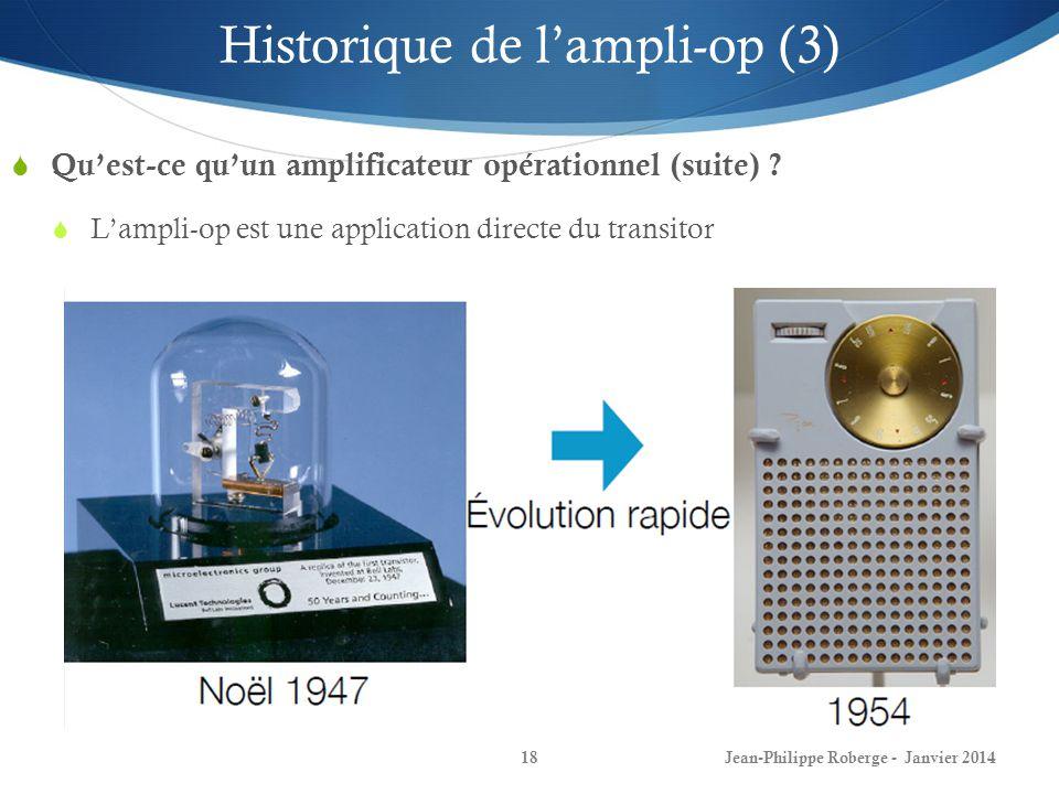 Quest-ce quun amplificateur opérationnel (suite) .