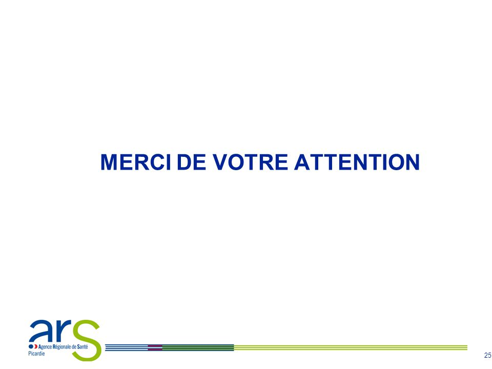 25 MERCI DE VOTRE ATTENTION