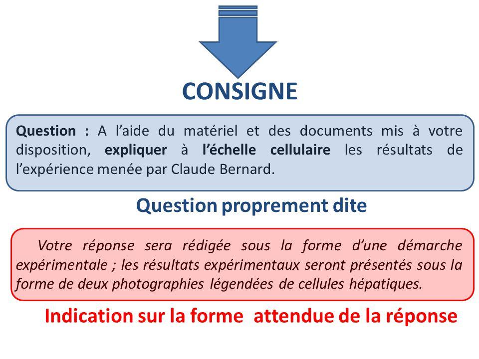 Question : A laide du matériel et des documents mis à votre disposition, expliquer à léchelle cellulaire les résultats de lexpérience menée par Claude
