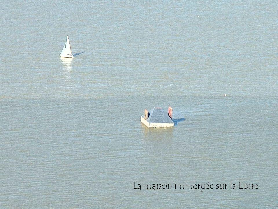 La maison immergée sur la Loire