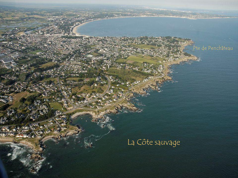 La Côte sauvage Pte de Penchâteau