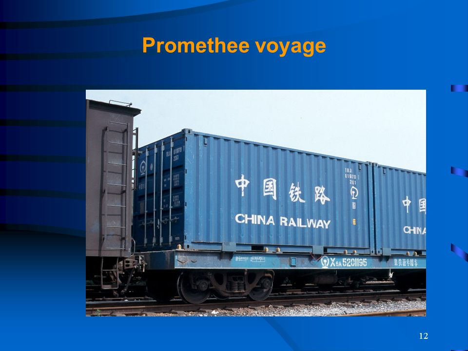 12 Promethee voyage