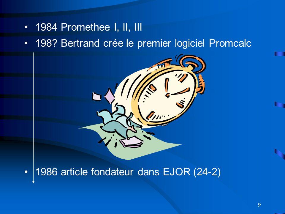 9 1984 Promethee I, II, III 198.