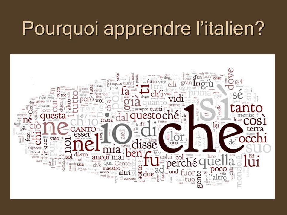 A.Des arguments culturels I. La langue dune culture prestigieuse II.