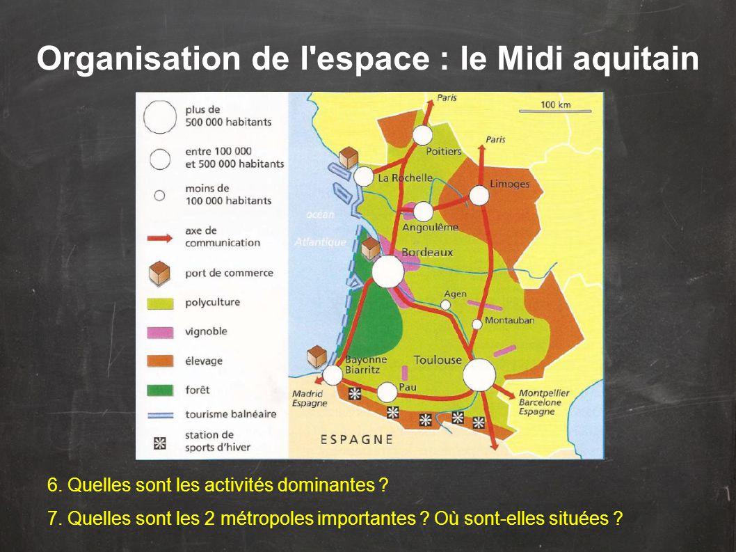Les régions du Sud sont composées du Midi méditerranéen et du Midi aquitain.