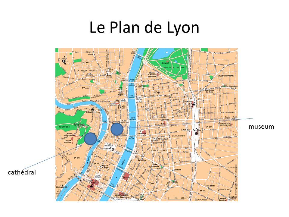Le Plan de Lyon cathédral museum