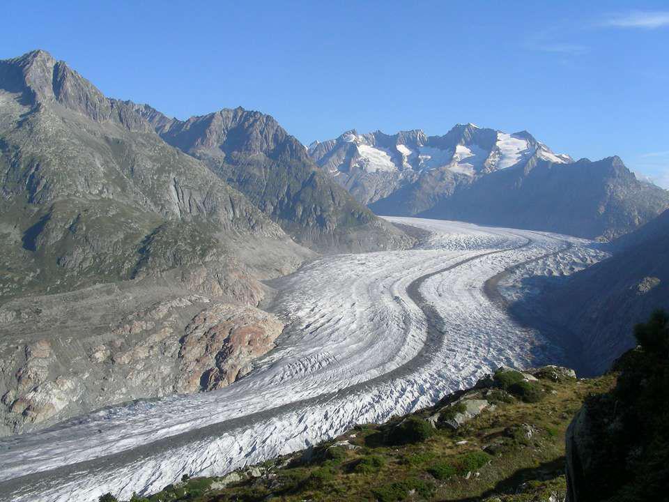 ALETSCH Le Glacier le plus long dEurope Il se trouve en Valais / Suisse