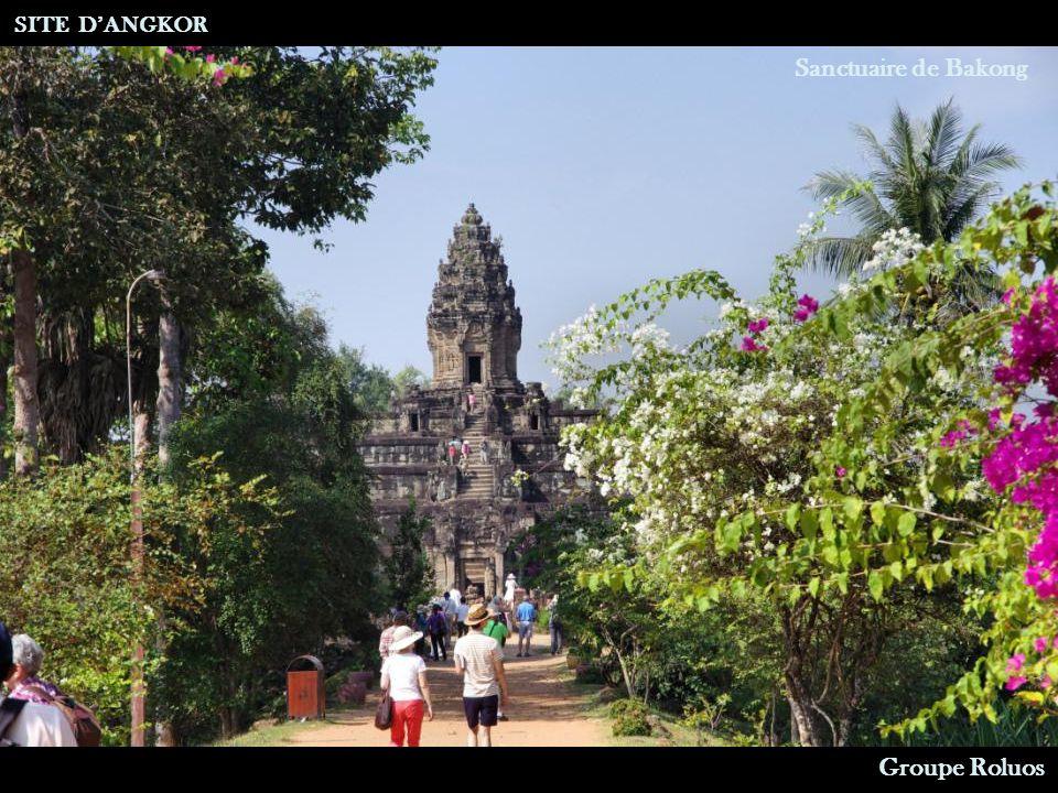 Sanctuaire de Bakong (Monastère) SITE DANGKOR Groupe Roluos