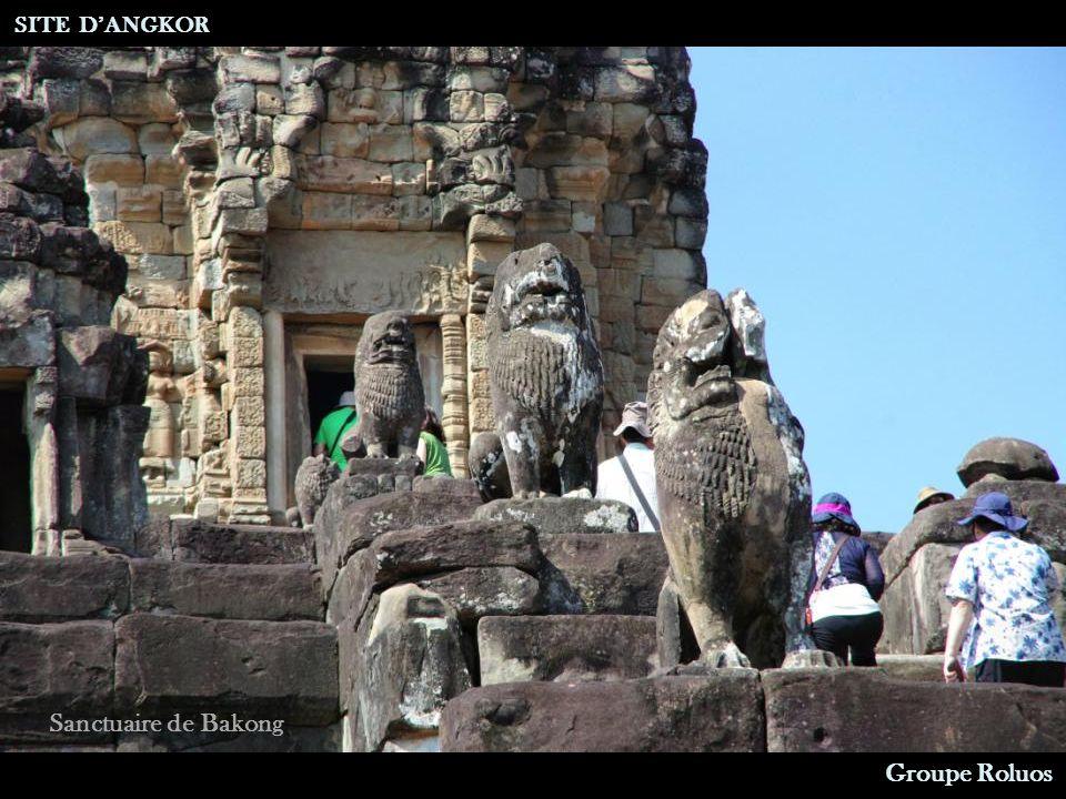 Sanctuaire de Bakong Bibliothèque SITE DANGKOR Groupe Roluos