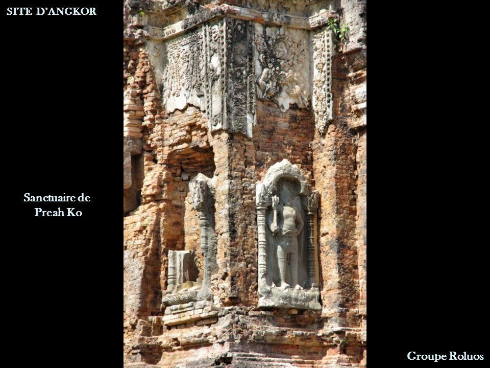 Sanctuaire de Preah Ko SITE DANGKOR Groupe Roluos