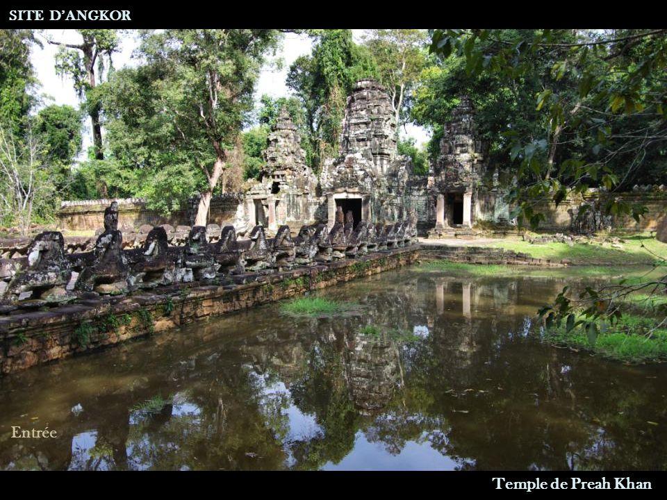 Temple de Preah Khan SITE DANGKOR Entrée