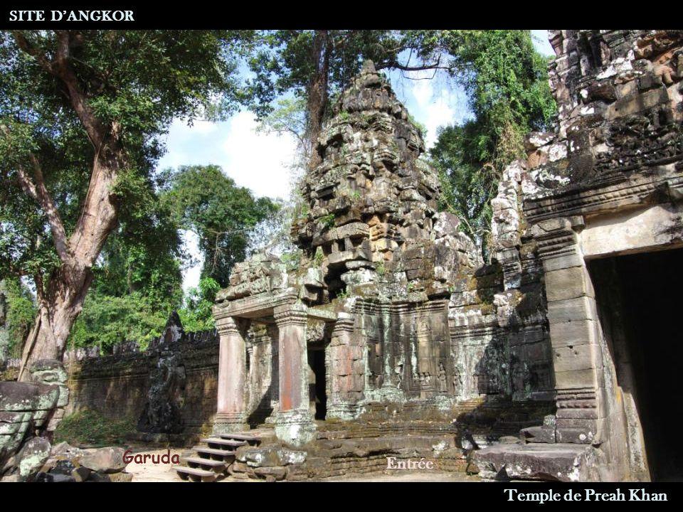 SITE DANGKOR Temple de Preah Khan Entrée