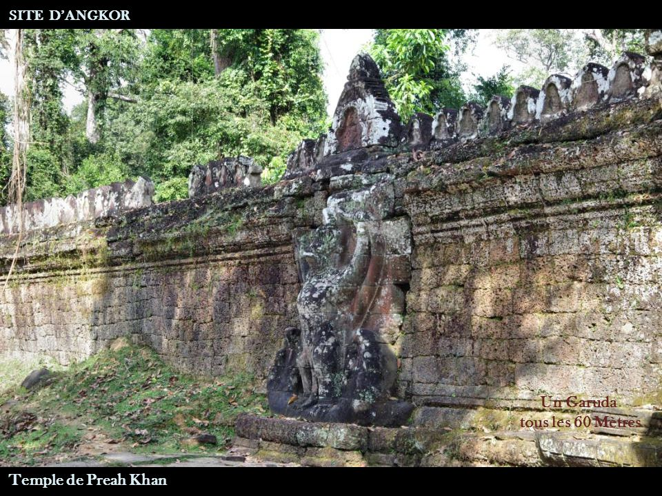 Garuda SITE DANGKOR Temple de Preah Khan Entrée