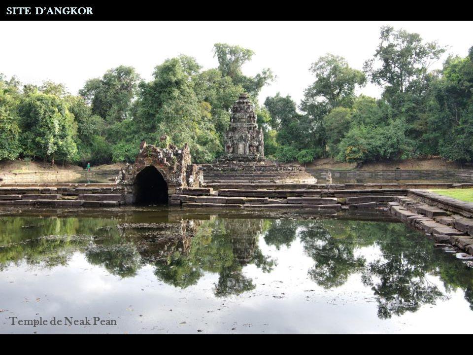 Site de Neak Pean SITE DANGKOR Après Remise en Eau
